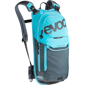 Evoc Stage Team Backpack 6 L + Hydration Bladder 2 L neon blue-slate